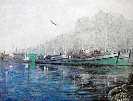 Misty Morning in Hout Bay by Michael Durst