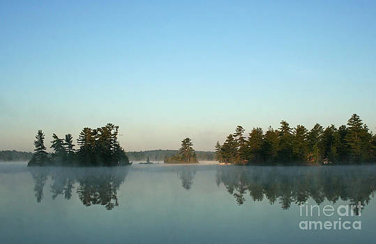 Barbara McMahon - Misty Morning on A  Little Lake