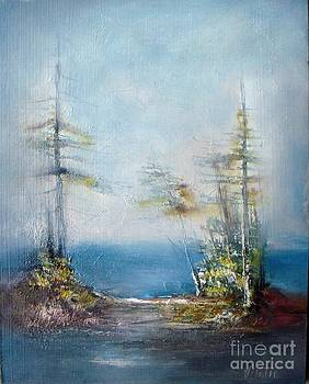 Misty Morning by Vesna Antic