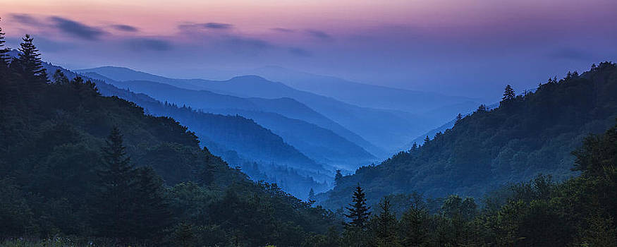 Misty Mountain Morning by Andrew Soundarajan