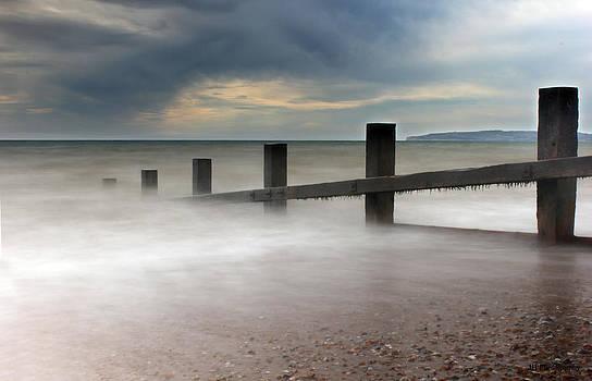 Misty Seascape by Jay Harrison