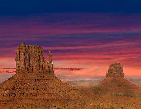 Randall Branham - Mittens Purple Skys on Horizon