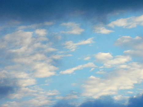 Mixed Clouds by Linda Brown