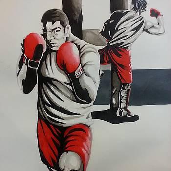 MMA Training by Michael Briggs