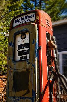 Brenda Giasson - Mobilfuel Diesel Antique Gas Pump