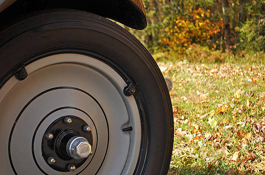 Model A Front Tire by Bruce Gourley