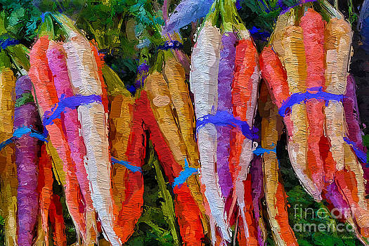 Modern Carrot Painting by Andrea Auletta