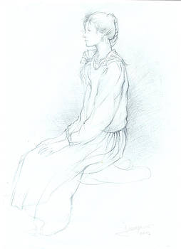MODESTY sketch by Jovica Kostic