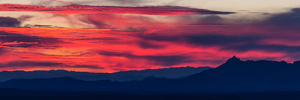 Mojave Sunset by Nick Oman