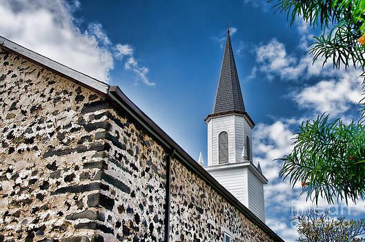Mokuaikaua Church by David Lawson