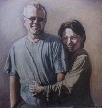 Mom and dad by Genevieve Elizabeth