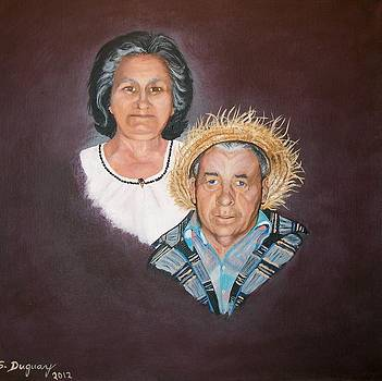 Mom and  Dad by Sharon Duguay