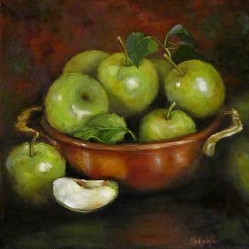 Mom's Last Apple Harvest by Cheri Wollenberg