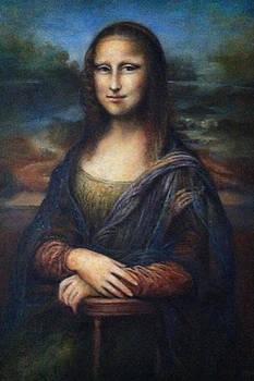 Mona Lisa by Chikako Takizawa
