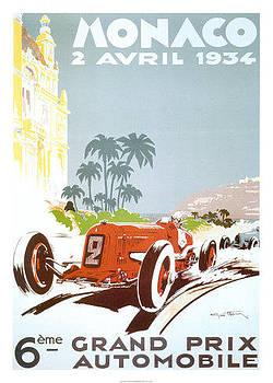 Monaco Grand Prix 1934 by Vintage