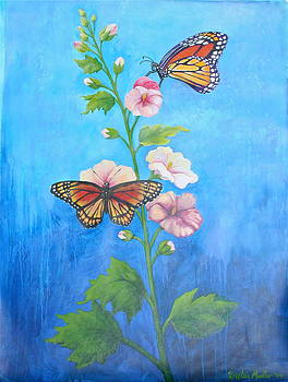 Monarch Butterflies by Kristine Mueller Griffith
