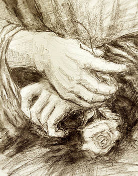 Mona's Hands by Mary Schiros