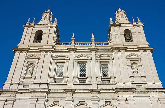 Monastery of Sao Vicente de Fora Facade by Kiril Stanchev