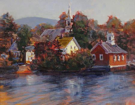 Monday Morning Harrisville by Ken Fiery