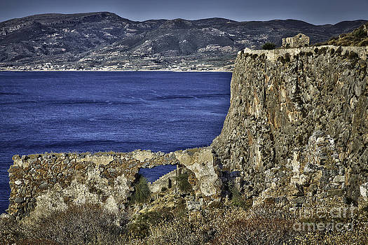 Monemvasia Greece by F Icarus