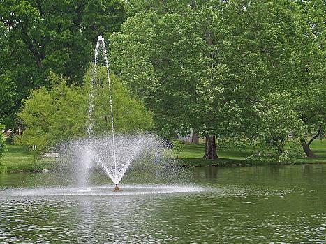 Monet City Park by Julie Grace