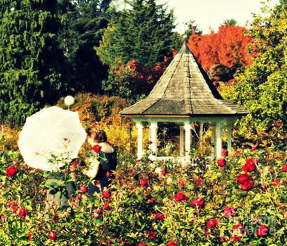 Monet Inspired Ladies in the Garden by Mindy Bench