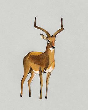 Money antelope by Marikohandmade