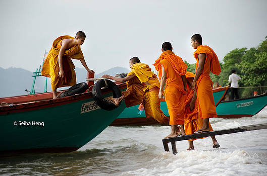 Monk by Seiha Heng