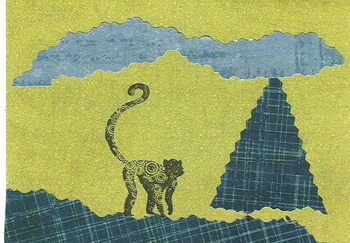 Monkey and Tree by Glenda Kotchish