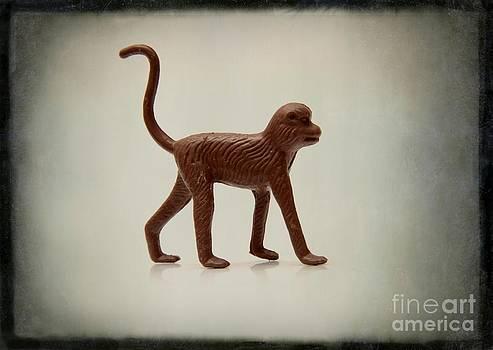 BERNARD JAUBERT - Monkey figurine
