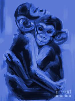 Monkey Love T17 by Go Van Kampen