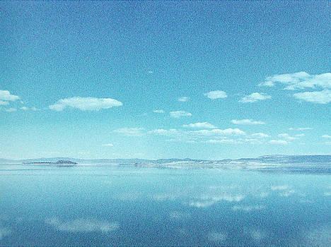 Mono Lake Reflections by Ari Jacobs