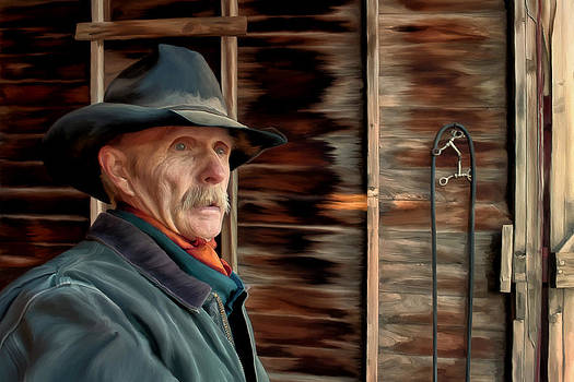 Montana Cowboy by Michael Pickett