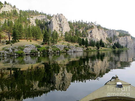 Montana Fishing by Jaunine Roberts