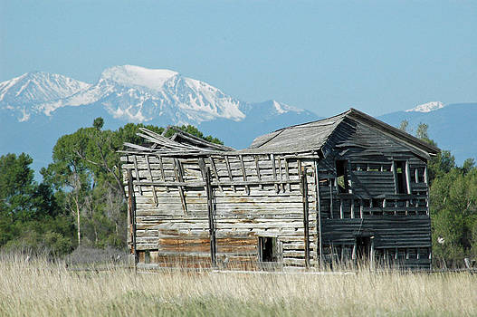 Montana's Old Gallatin Hotel by Bruce Gourley