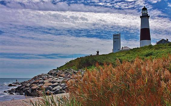 Montauk Lighthouse by Mikki Cucuzzo