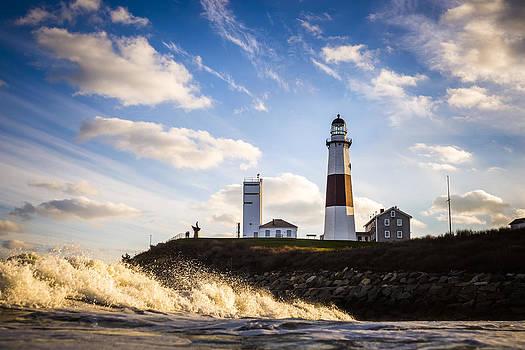 Montauk Lighthouse Sunset by Ryan Moore
