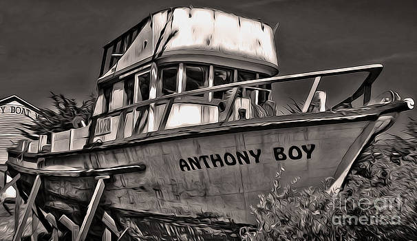 Gregory Dyer - Monterey California - Old Boat
