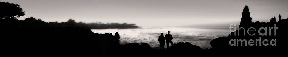 Gregory Dyer - Monterey California - Silhouette Sunset