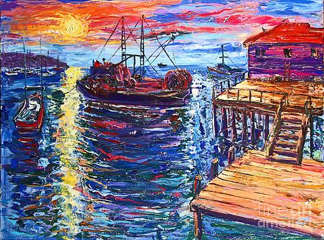 Monterey Dock by Arthur Robins