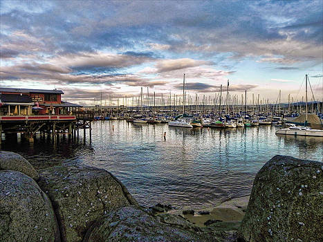 Monterey Marina California by Kathy Churchman