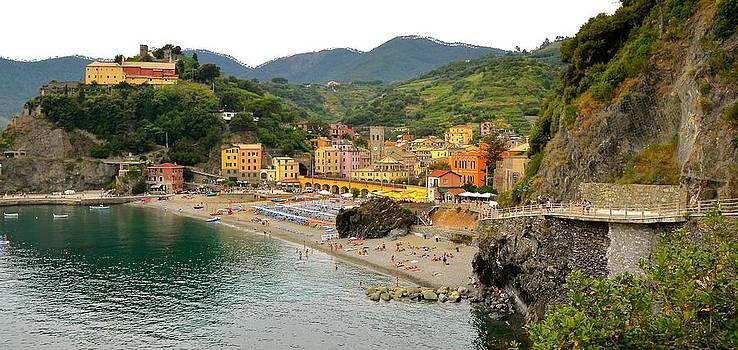 Corinne Rhode - Monterosso by land