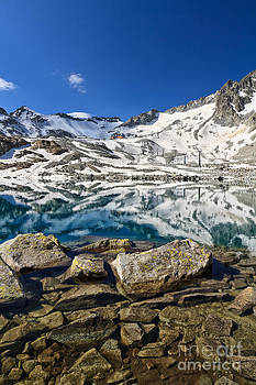 Monticello Lake - Tonale pass by Antonio Scarpi