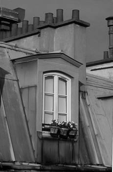 Harold E McCray - Montmartre Chimney Tops I