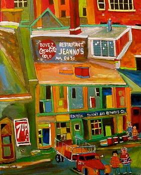 Michael Litvack - Montreal Tinning Montreal Memories