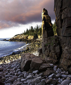 Monument Cove Sunrise 4984 by Brent L Ander