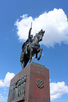 Monument of king Tomislav by Borislav Marinic