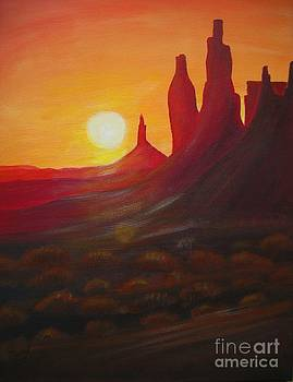 Monument Valley  by Christine Huwer