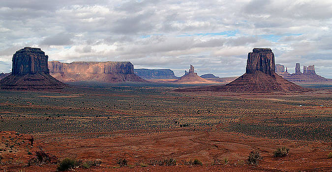 Jeff Brunton - Monument Valley Morning