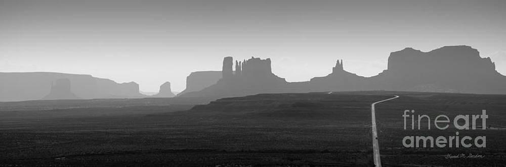 Dave Gordon - Monument Valley Panorama I